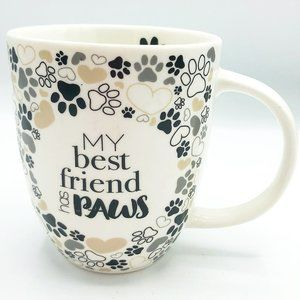 My Best Friend Has Paws 16 oz Mug Crofton